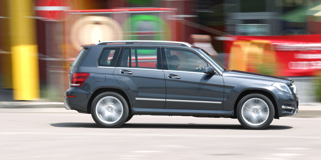 Mercedes GLK 250 Bluetec 4-Matic, Seitenansicht