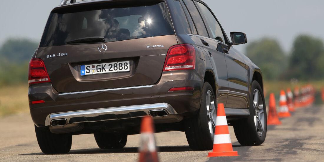 Mercedes GLK 250 Bluetec 4Matic, Heckansicht
