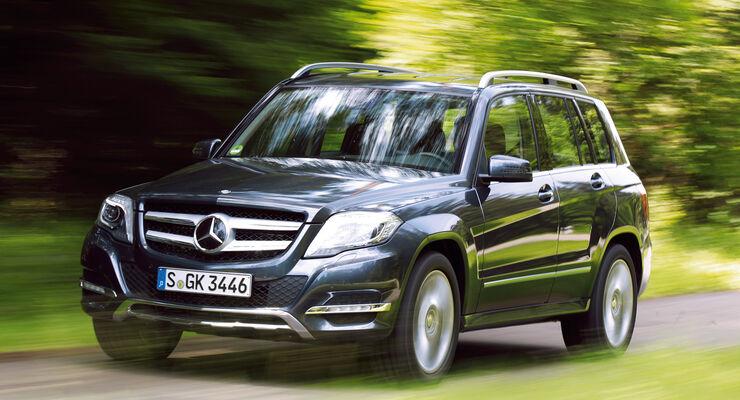 Mercedes Glk Mit Neuen Antrieben 2 Benziner Mit Hinterradantrieb