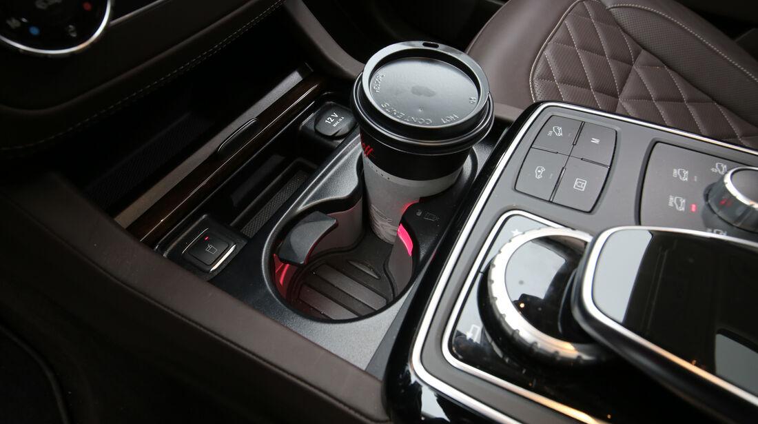 Mercedes GLS 350 d 4Matic, Bedienelemente