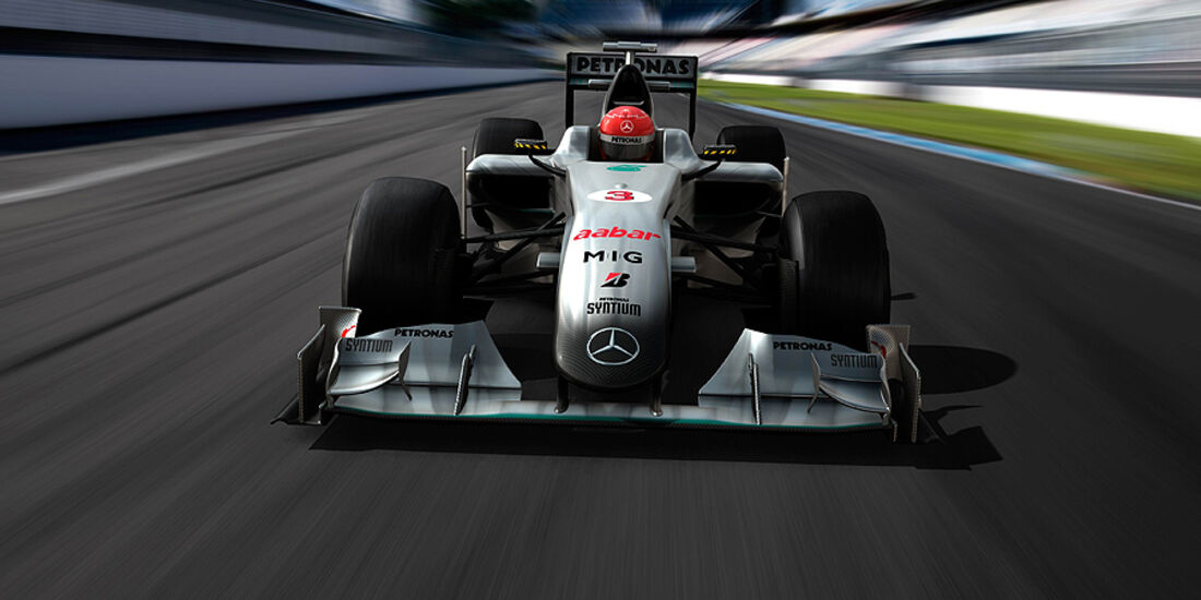 Mercedes GP 2010 Animation