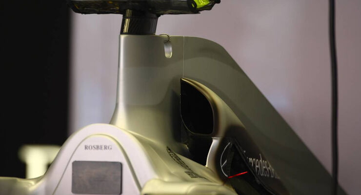 Mercedes GP Airbox