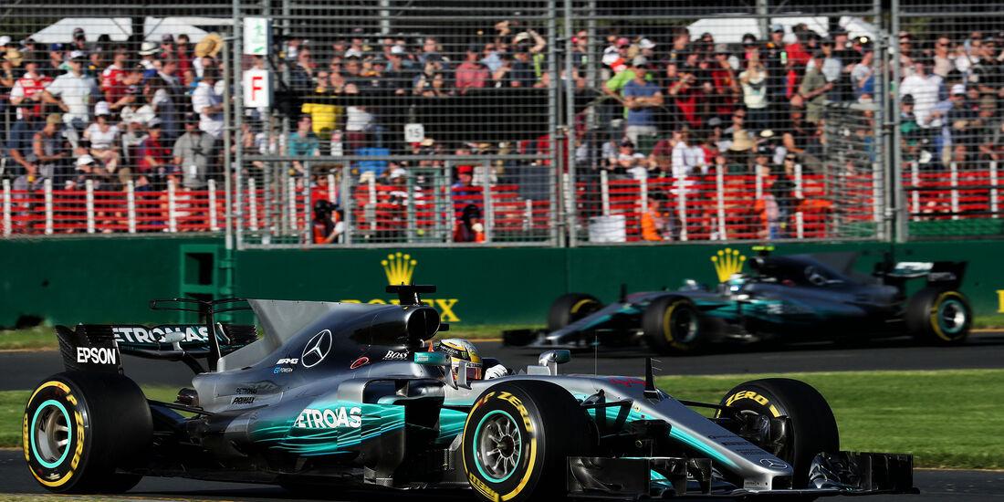 Mercedes - GP Australien 2017