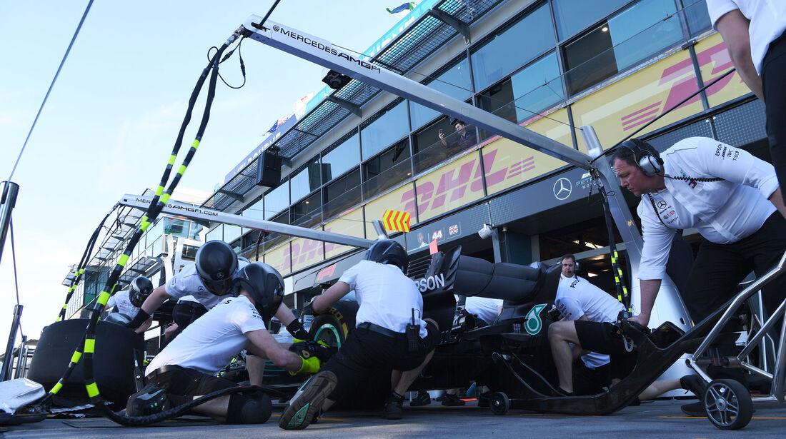 Mercedes - GP Australien 2018 - Melbourne - Albert Park - Freitag - 23.3.2018