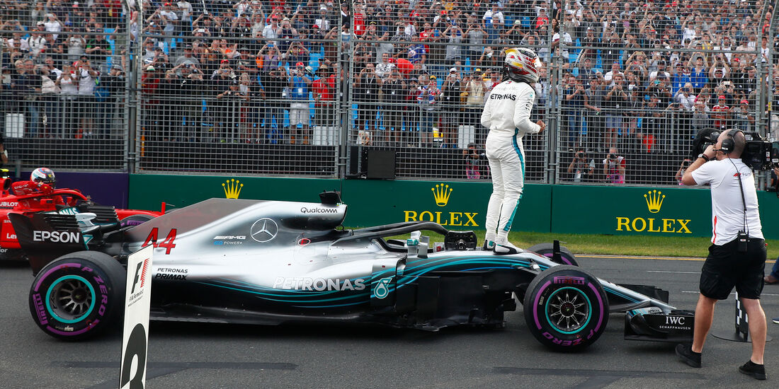 Mercedes - GP Australien 2018