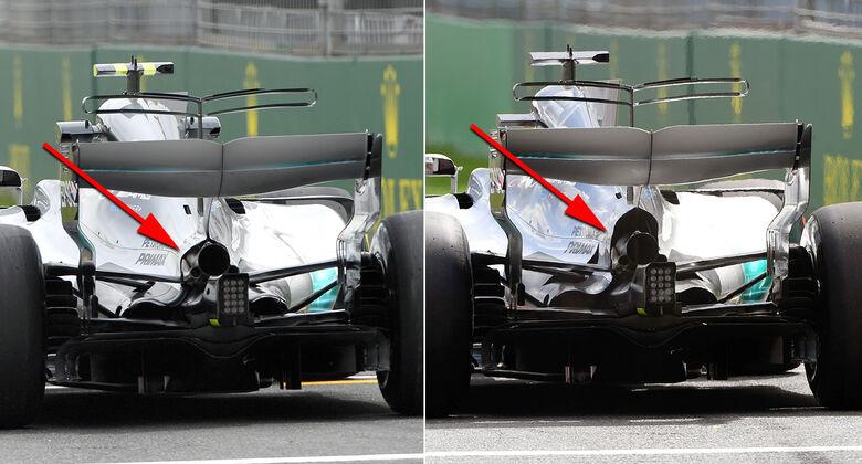 Technik-Upgrades GP Australien