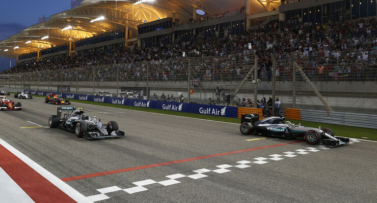 Mercedes - GP Bahrain 2016
