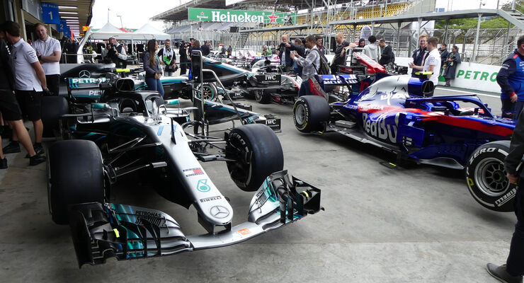Mercedes - GP Brasilien - Interlagos - Formel 1 - Donnerstag - 8.11.2018