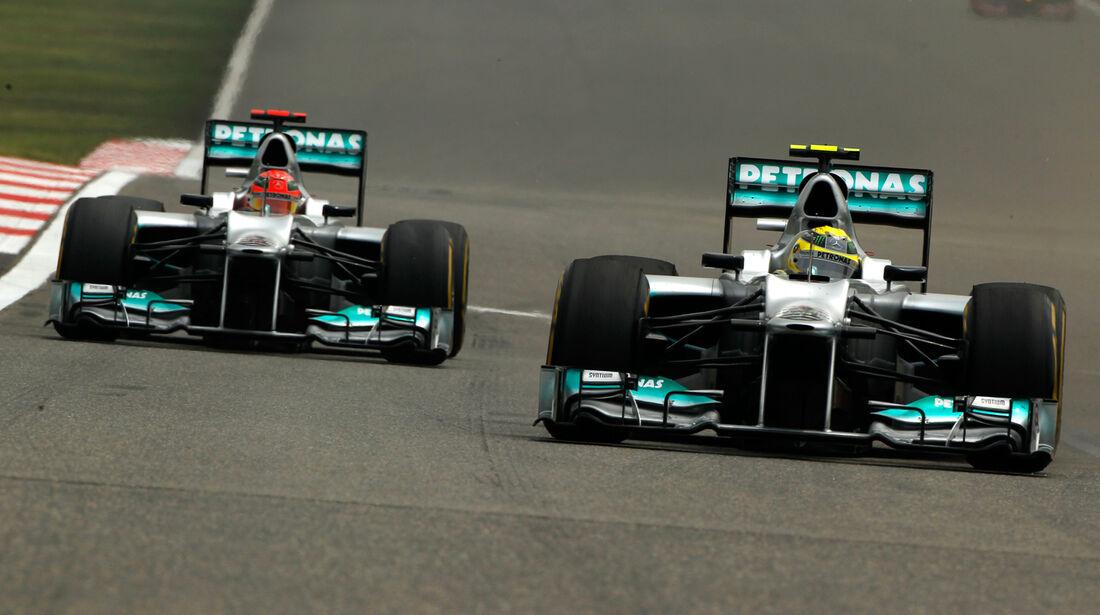 Mercedes GP China 2012