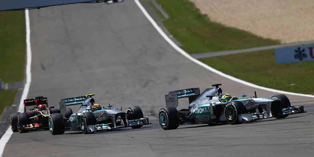 Mercedes - GP Deutschland 2013