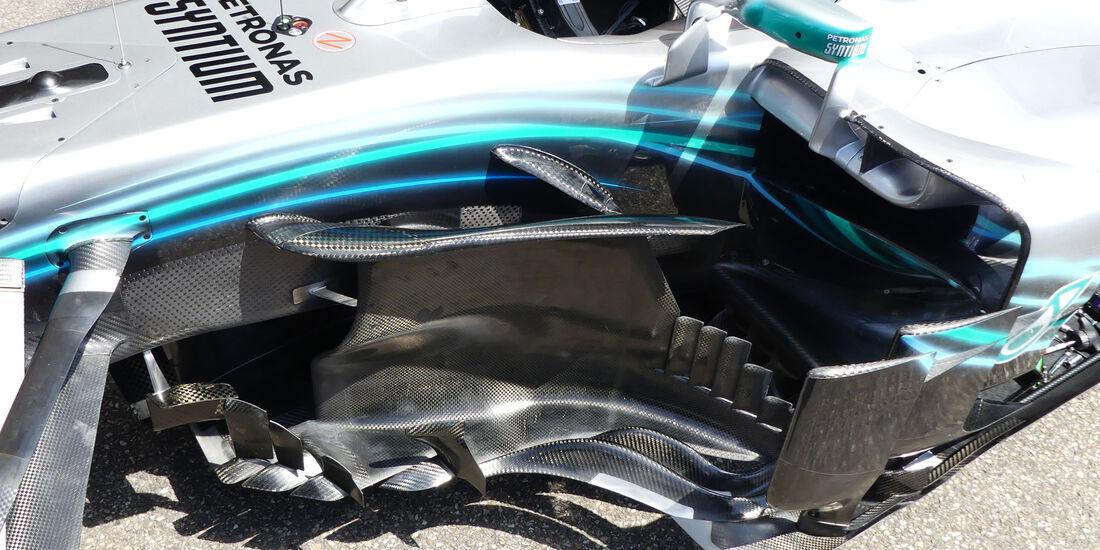 Mercedes - GP Deutschland 2018 - Technik-Updates