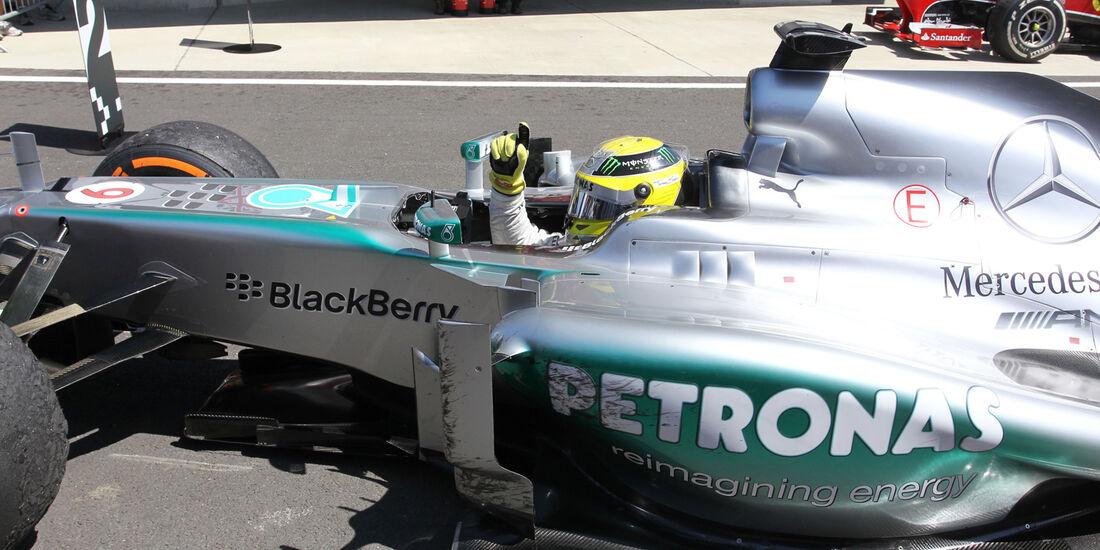 Mercedes - GP England 2013