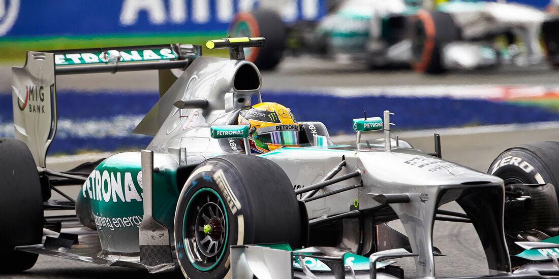 Mercedes - GP Italien 2013