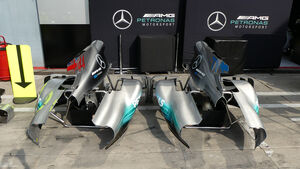 Mercedes  - GP Italien - Monza - Formel 1 - 30. August 2017