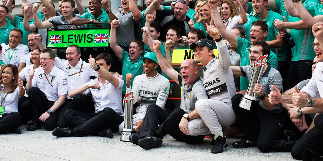 Mercedes - GP Malaysia 2014
