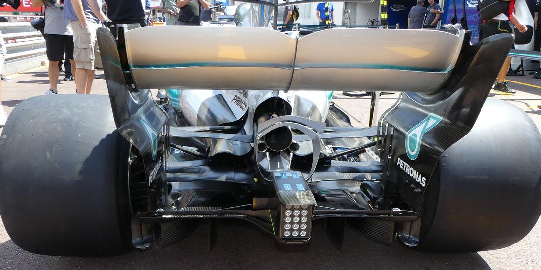 Mercedes - GP Monaco - Formel 1 - 14. Mai 2017