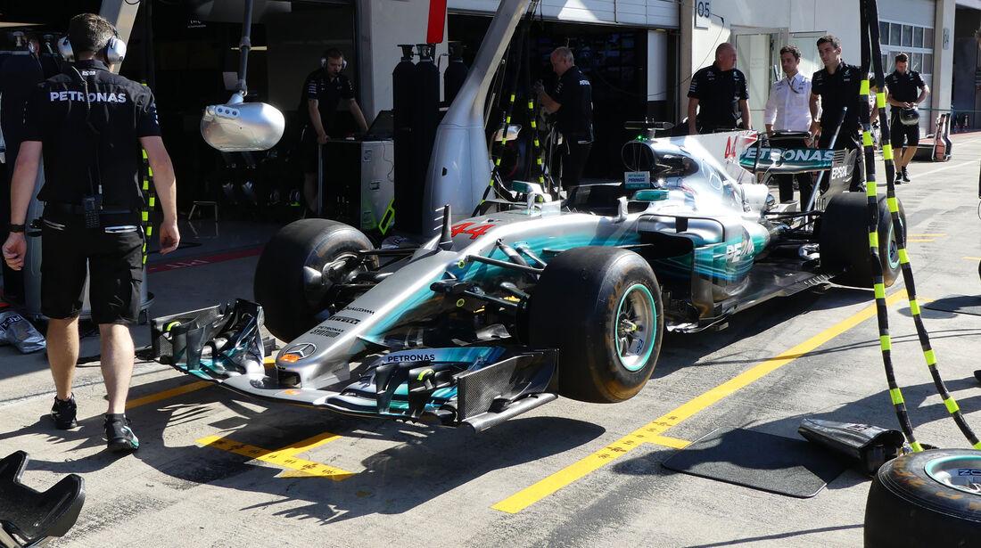 Mercedes - GP Österreich - Spielberg - Formel 1 - Freitag - 7.7.2017