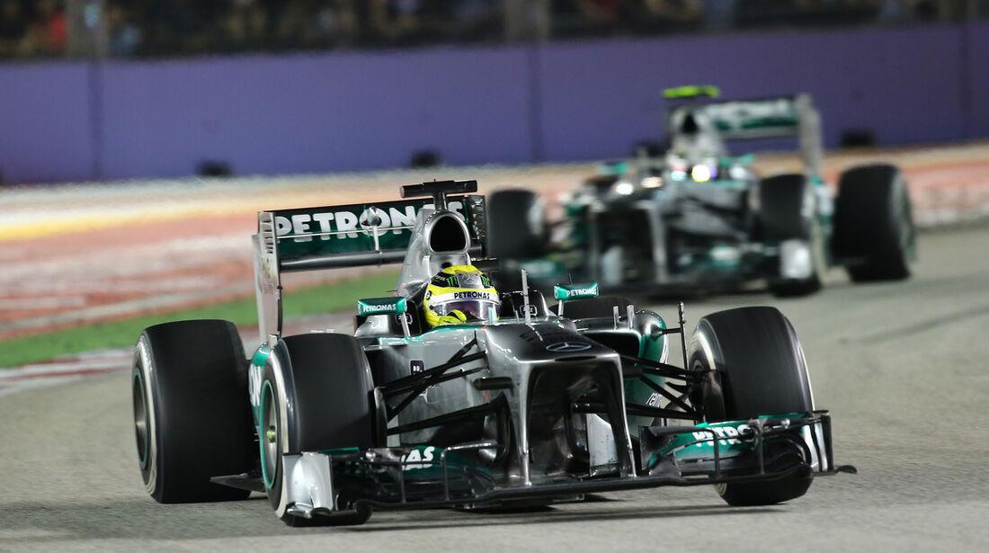 Mercedes - GP Singapur 2013