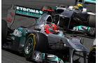 Mercedes GP Spanien 2011