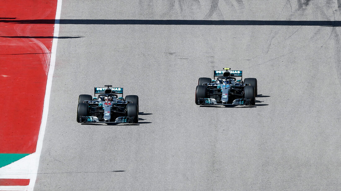 Mercedes - GP USA 2018