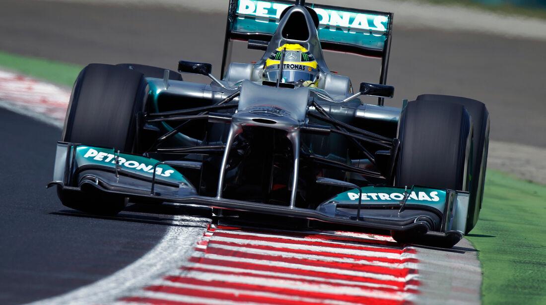 Mercedes GP Ungarn 2012