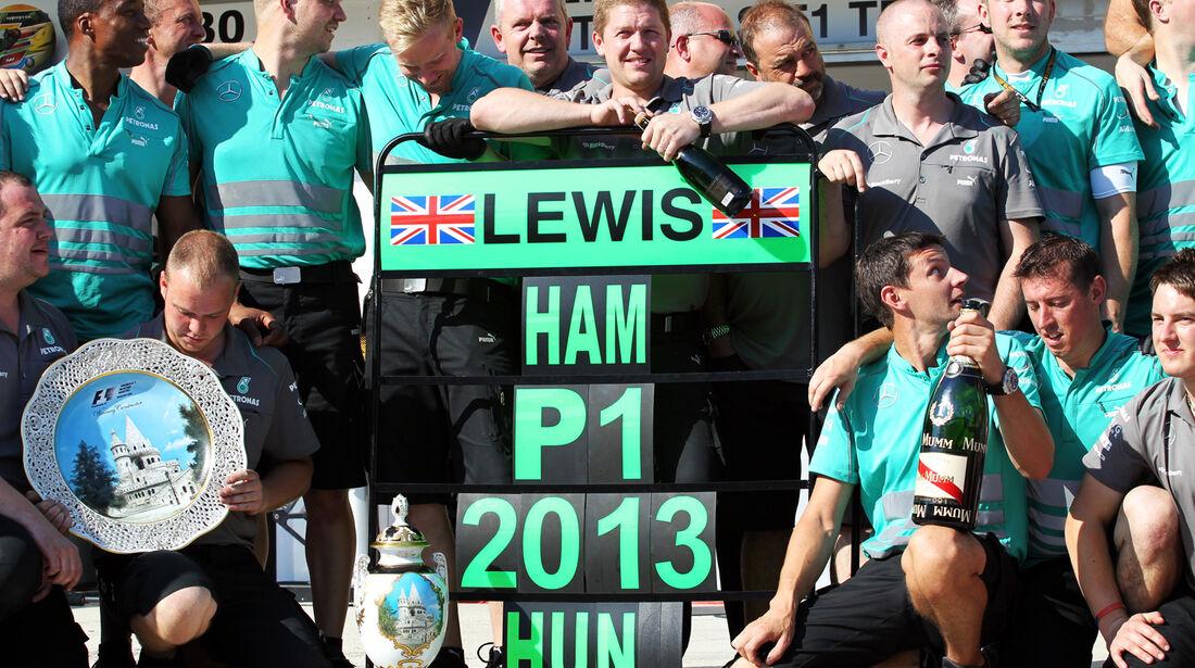 Mercedes - GP Ungarn 2013