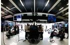 Mercedes - Garage - GP Abu Dhabi 2016 - Formel 1