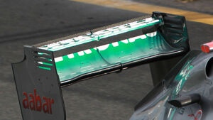 Mercedes Heckflügel 2012 Melbourne GP Australien