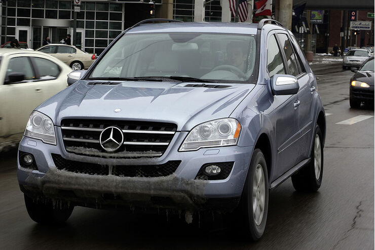 Mercedes ML 450 Blue Hybrid