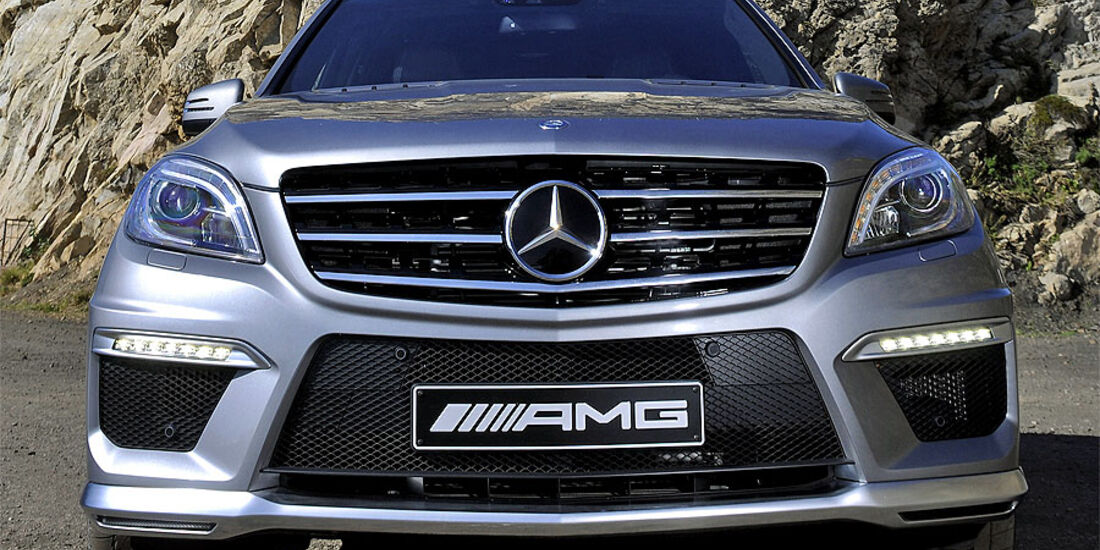 Mercedes ML 63 AMG 2012 Test