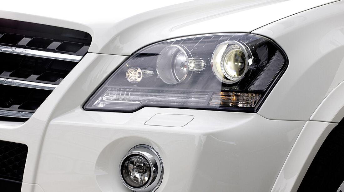 Mercedes ML 63 AMG Scheinwerfer