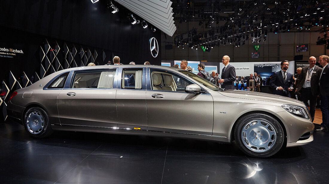 Mercedes-Maybach Pullman auf dem Autosalon Genf