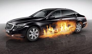Mercedes-Maybach S 600 Guard, Feuerlöschsystem