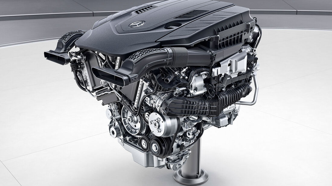 Mercedes Motoren Zukunft Vierzylinder M264