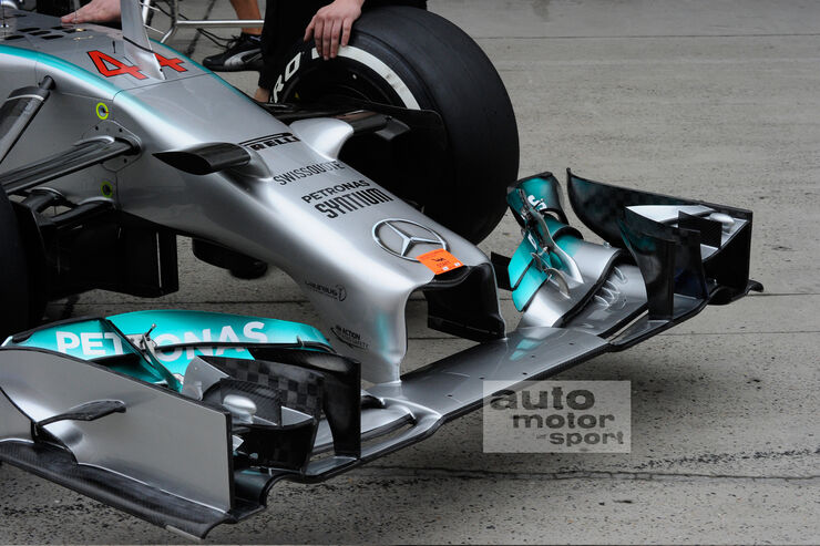 Mercedes Nase - GP China 2014
