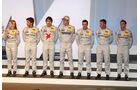 Mercedes-Piloten DTM Präsentation Wiesbaden 2012