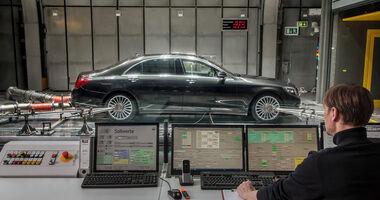 Mercedes Prüfstand CO2-Klimaanlage