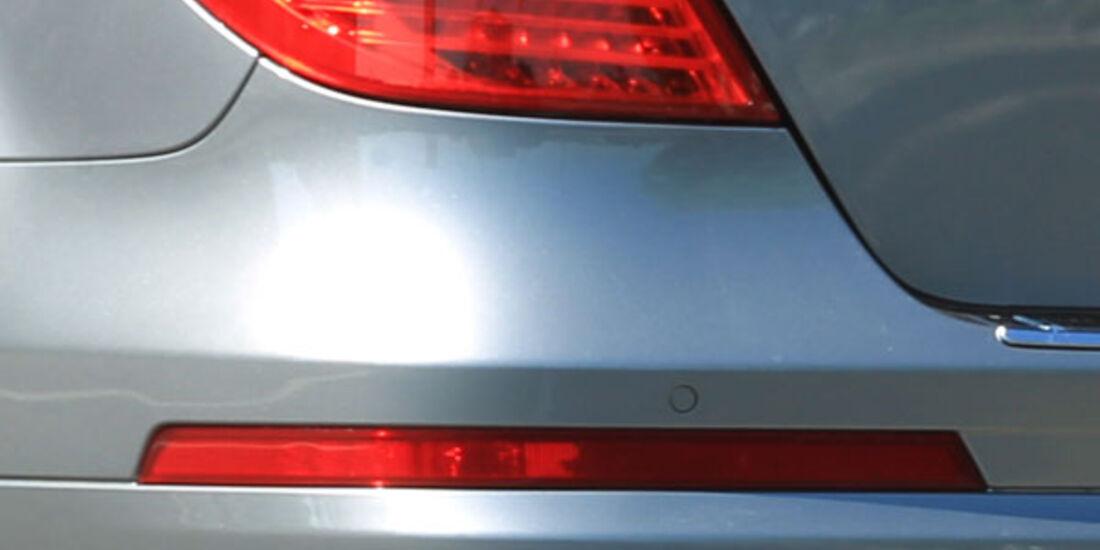 Mercedes R 350 CDI 4Matic, Heckleuchte, Auspuff