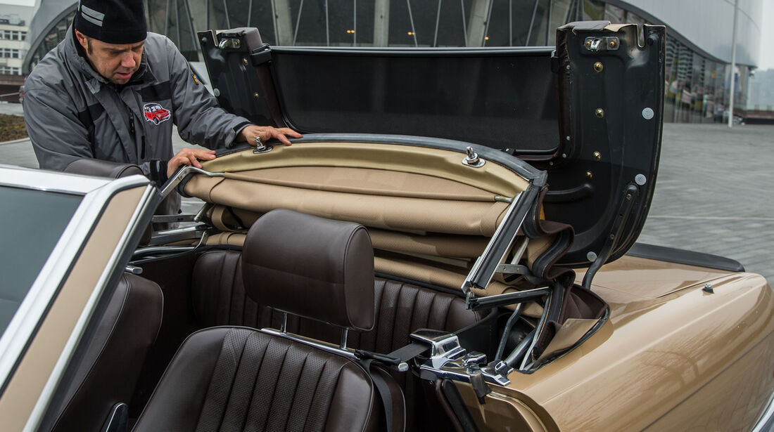 Mercedes R107, Cabriodach