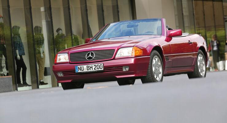 Mercedes R129, Frontansicht
