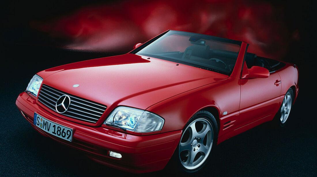 Mercedes, R129, SL