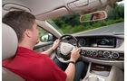 Mercedes S 300 Bluetec Hybrid, Cockpit, Jens Dralle