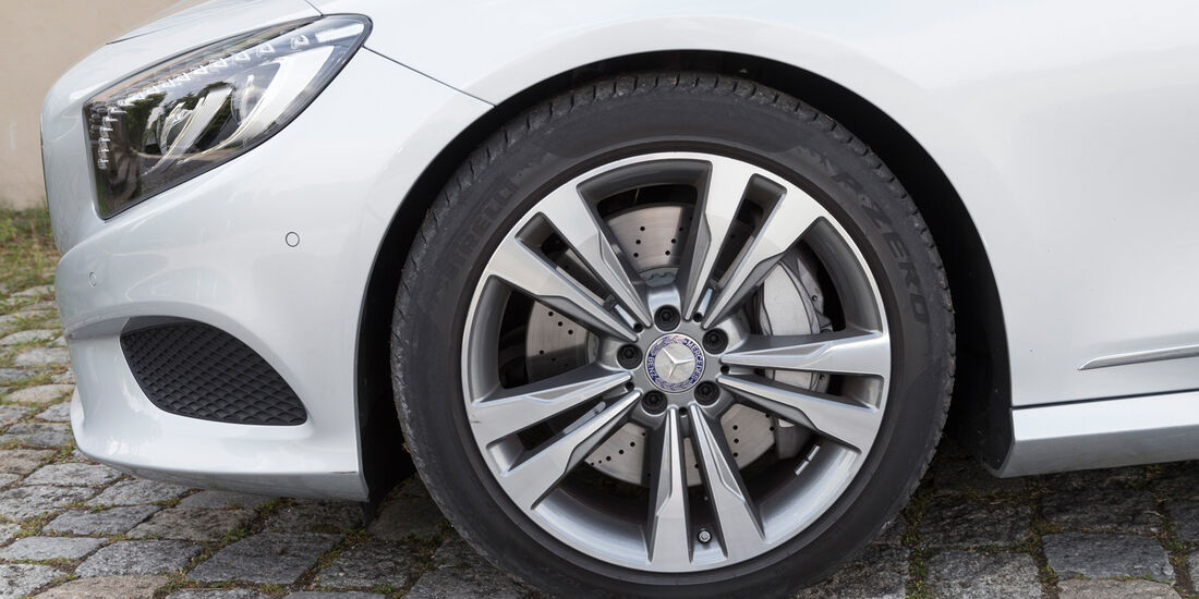 Mercedes S 500 4Matic Coupé, Rad, Felge