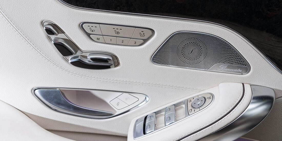 Mercedes S 500 4Matic Coupé, Sitzverstellung