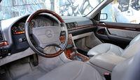 Mercedes S 500, Cockpit, Lenkrad