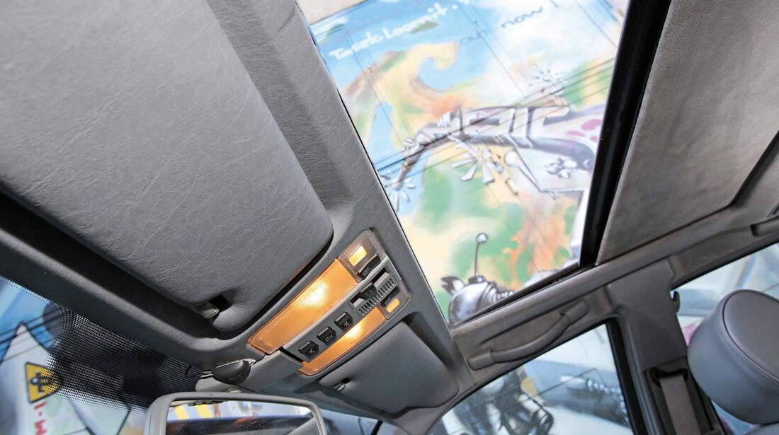 Mercedes S 500, Dachfenster