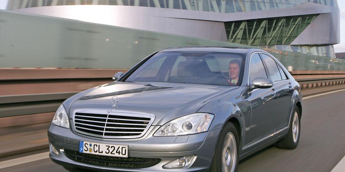 Mercedes S 500, Frontansicht