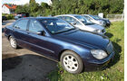 Mercedes S 500 L, Seitenansicht