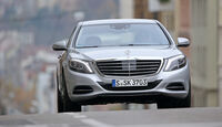Mercedes S 500 Plug in Hybrid lang, Frontansicht