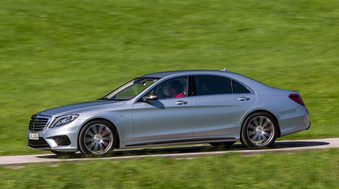 Mercedes S 63 AMG 4matic, Seitenansicht